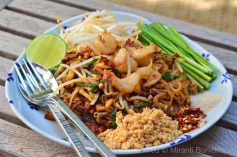 Authentic PadThai by The High Heel Gourmet